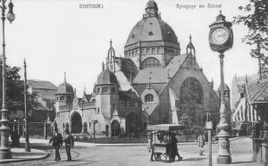 Die Synagoge in Dortmund 1905.